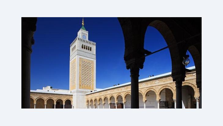 Al-Zitouna-Moschee in Tunis, Foto: picture-alliance