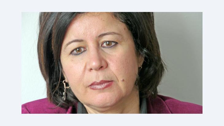 Amel Grami, tunesische Publizistin und Frauenrechtlerin; Foto: DW/U. Schaeffer