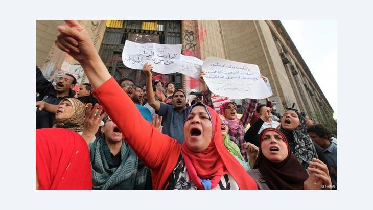 Demonstration gegen die Regierung Mursi in Kairo; Foto: Reuters