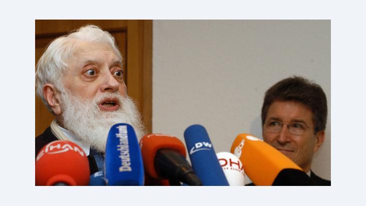 Imam Seyed Mehdi Razvi, Foto: picture-alliance/dpImam Seyed Mehdi Razvi, Foto: picture-alliance/dp