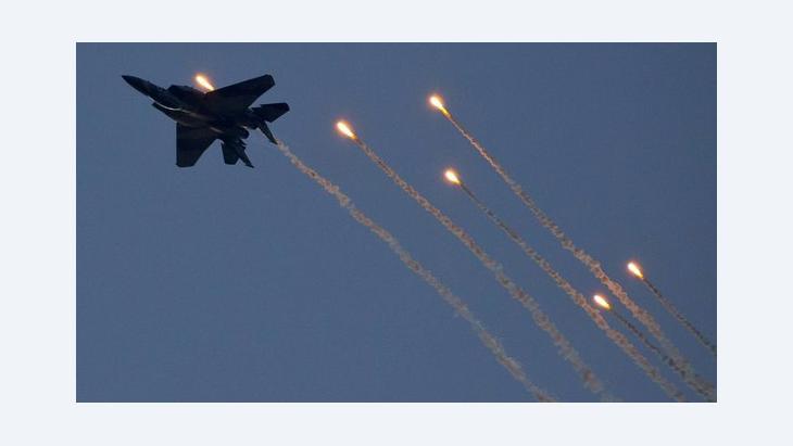 Israelische Kampfjets bombardieren syrisches Militär bei Damaskus; Foto: JACK GUEZ/AFP/Getty Images