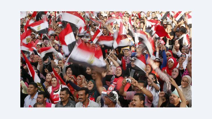 Demonstration gegen Mursi in Alexandria; Foto: Reuters
