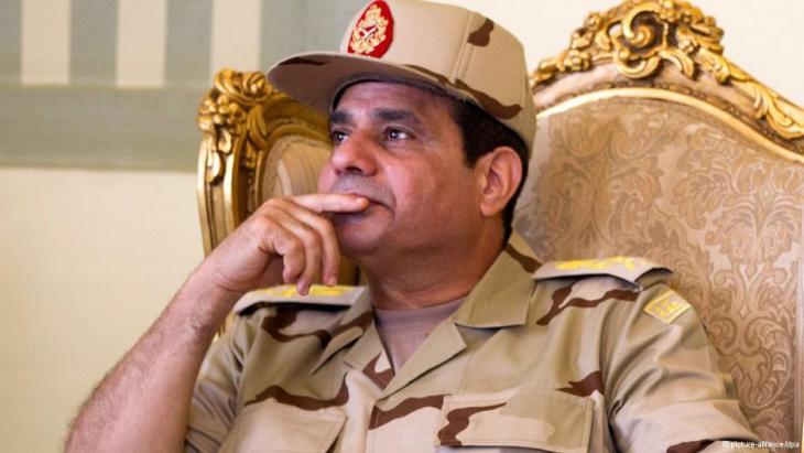 Armeechef Abdel Fattah al-Sisi; Foto: DPA