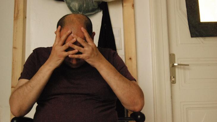 Verzweiflung - oft sind Traumaopfer in arabischen Ländern mit ihren Problemen auf sich allein gestellt