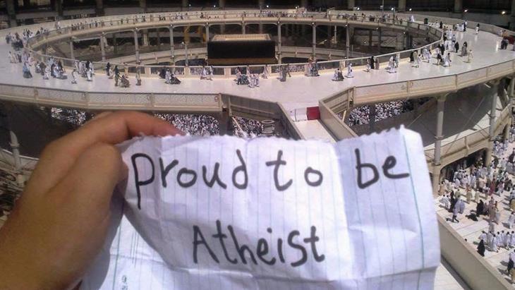 Ein Atheist