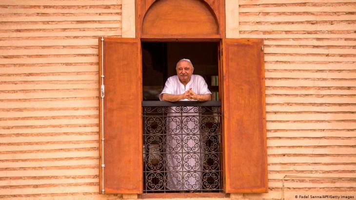 Marokkos jüdisches Erbe: ein jüdischer Bürger in seinem Haus in Marrakesch.