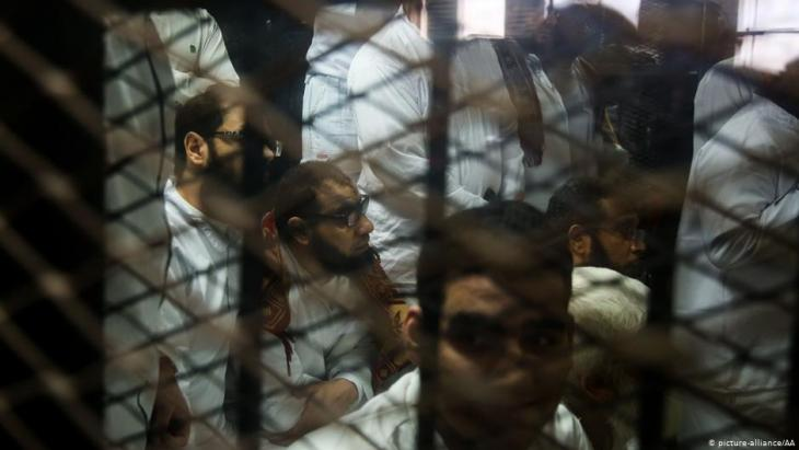 Wieviele Aktivisten sich derzeit in ägyptischen Gefängnissen befinden, ist unbekannt ( Symbolbild)