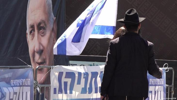 Benjamin Netanjahu ist überall präsent