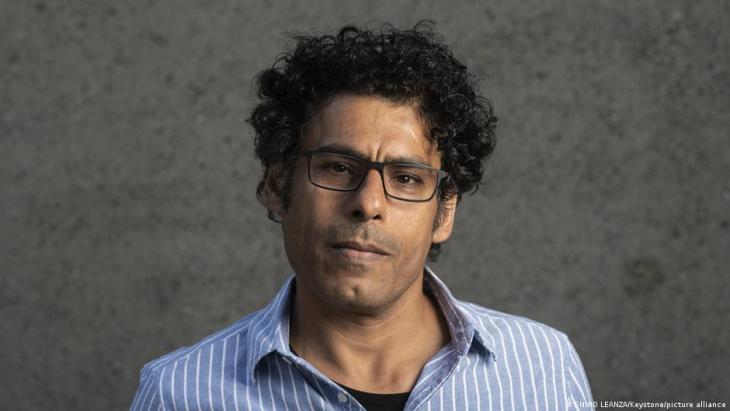 Iraqi author Usama Al Shahmani