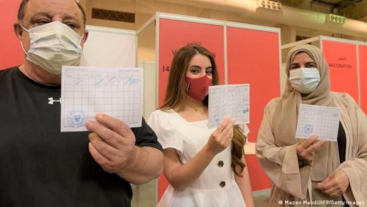 Im Februar führte Bahrain als eines der ersten Länder der Welt einen Impfpass ein.