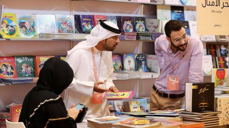 Foto: Abu Dhabi International Book Fair 2021/Youtube screenshot