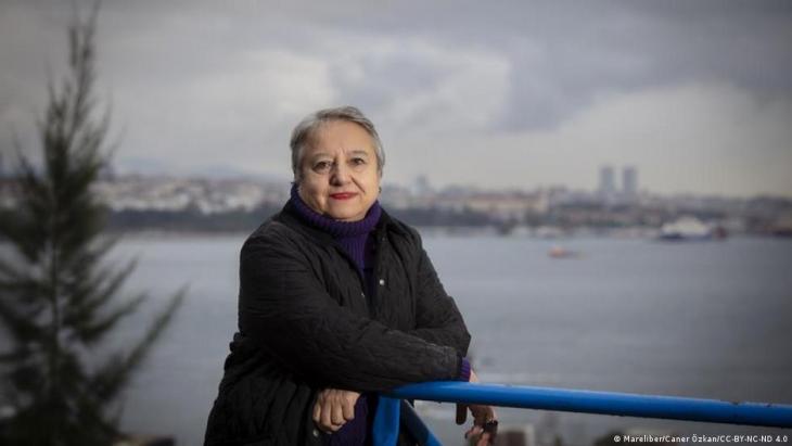 Die türkische Menschenrechtsanwältin Canan Arın; Foto: © Mareliber/ Caner Ozkan/CC-BY-NC-ND 4.0