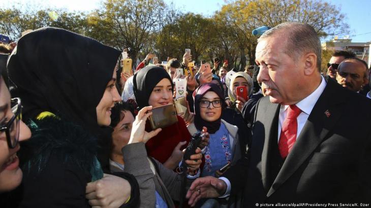 Griechenland, türkischer Staatspräsident Erdogan zu Besuch, 2017; Foto: picture-alliance/dpa/AP/Presidency Presse Service/K.Ozer