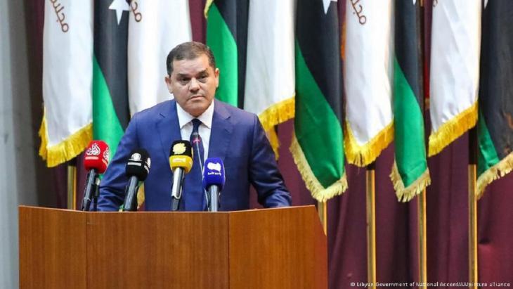 Abdelhamid Dabeiba, Premierminister der libyschen Einheitsregierung; Foto: Libyan Government of National Accord/AA/picture alliance