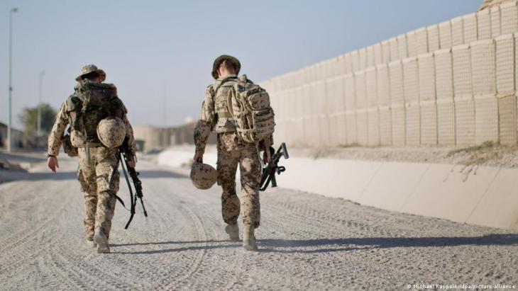 """Das Camp Marmal der Bundeswehr im Norden Afghanistans ist geräumt. Die letzten verbliebenen deutschen Soldatinnen und Soldaten der NATO-Mission """"Resolute Support"""" sind von der Luftwaffe ausgeflogen worden."""