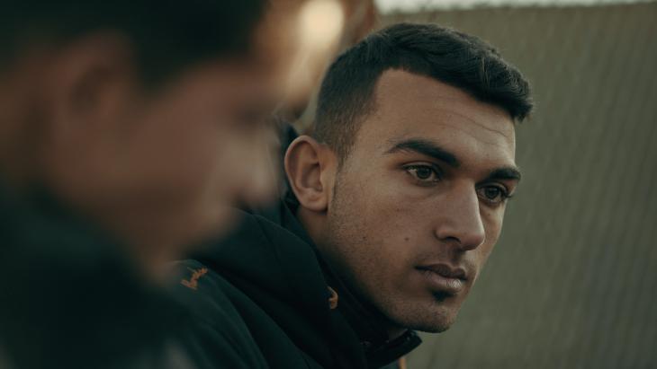 "Ausschnitt aus dem Film ""Captains of Zaatari""; Foto: Inga Gerke"