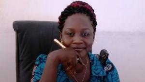 Die südsudanesische Schriftstellerin Stella Gitano; Foto: privat/Quelle: Facebook