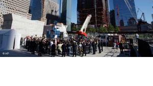 Memorial Service am Ground Zero; Foto: AP