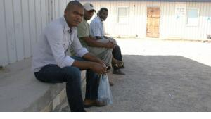 Flüchtlinge aus Tawerga; Foto: Markus Symank