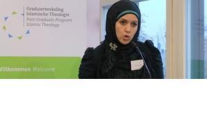 Noha Abdel-Hady, Teilnehmerin des Graduiertenkollegs Islamische Theologie; Foto: Christoph Dreyer