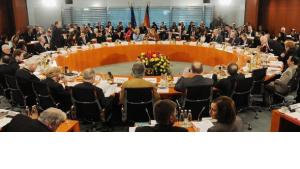 Fünfter Integrationsgipfel im Kanzleramt; Foto: dpa
