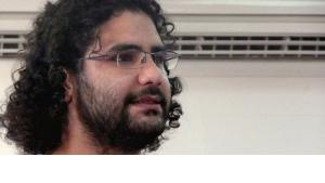 Inhaftierter Blogger Alaa Abdel Fattah; Foto. wikipedia