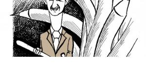 Karikatur des syrischen Künstlers Ali Farzat; &copy Ali Farzat