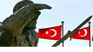 Statue Atatürks in Ankara; Foto:picture-alliance/dpa
