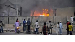 Bombenanschlag in Kano vom 20. Januar 2012; Foto: Reuters