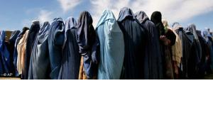 Burkaträgerinnen in Afghanistan; Foto: AP