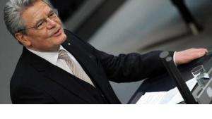 Bundespräsident Joachim Gauck; Foto: Rainer Jensen/dpa