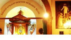 Heilige Mutter Gottes-Kirche in Aleppo; Foto: Kevorkmail/Wikimedia Commons