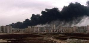 Explosionen in der zentralsyrischen Stadt Homs; Foto: Reuters