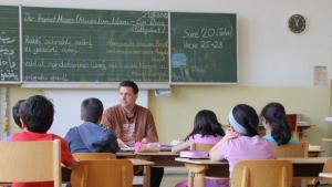 Islamunterricht an einer Grundschule; Foto: DW