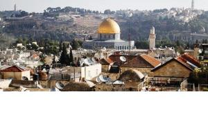 Blick auf die Altstadt von Jerusalem; Foto: Jan Zappner