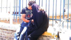 Junges Paar im Iran; Foto: Hartmut Niemann