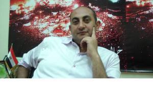 Khaled Ali in seinem Büro in Kairo; Foto: Susanne Schanda