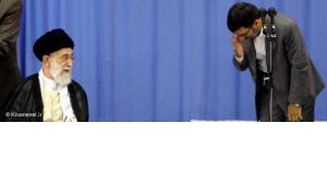 Ali Chamenei (links) und Mahmud Ahmadinedschad; Foto: DW