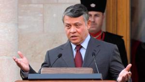 König Abdullah II. von Jordanien; Foto: dpa