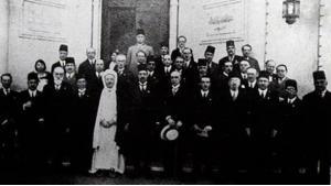 Teilnehmer des Kongresses in einem Gruppenfoto