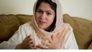 Fawzia Koofi, afghanische Menschenrechtsaktivistin und Präsidentschaftkandidatin; Foto: Getty Images