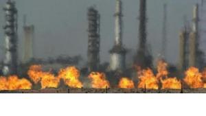 Raffinerie in Kirkuk; Foto: AP Photo/Khalid Mohammed
