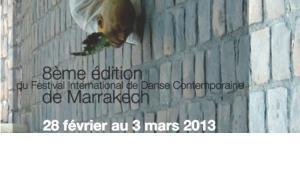 Plakat Tanzfestival On Marche in Marrakesch