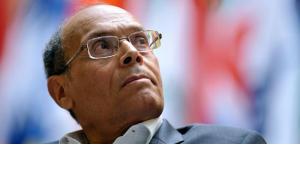Der tunesische Präsident Moncef Marzouki; Foto: Keystone/Martial Trezzini/AP/dapd