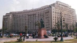 Die Mugamma am Tahrir-Platz in Kairo; Foto: wikipedia