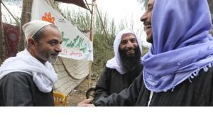 Nada Abou El-Maty, Kandidat der salafistischen Nour-Partei während des Wahlkampfs in Kairo; Foto: Reuters