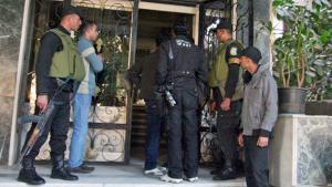 Ägyptisches Militär durchsucht eine NGO in Kairo, Foto: dapd