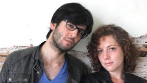 Denniz Utlu und Marianna Salzmann; Foto: Martina Prießner
