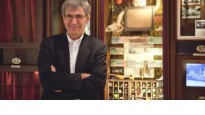 Orhan Pamuk in seinem Museum der Unschuld; Foto. © Museum der Unschuld