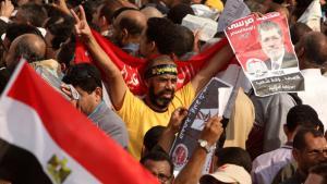 Anhänger Mohammed Mursis; Foto: Reuters